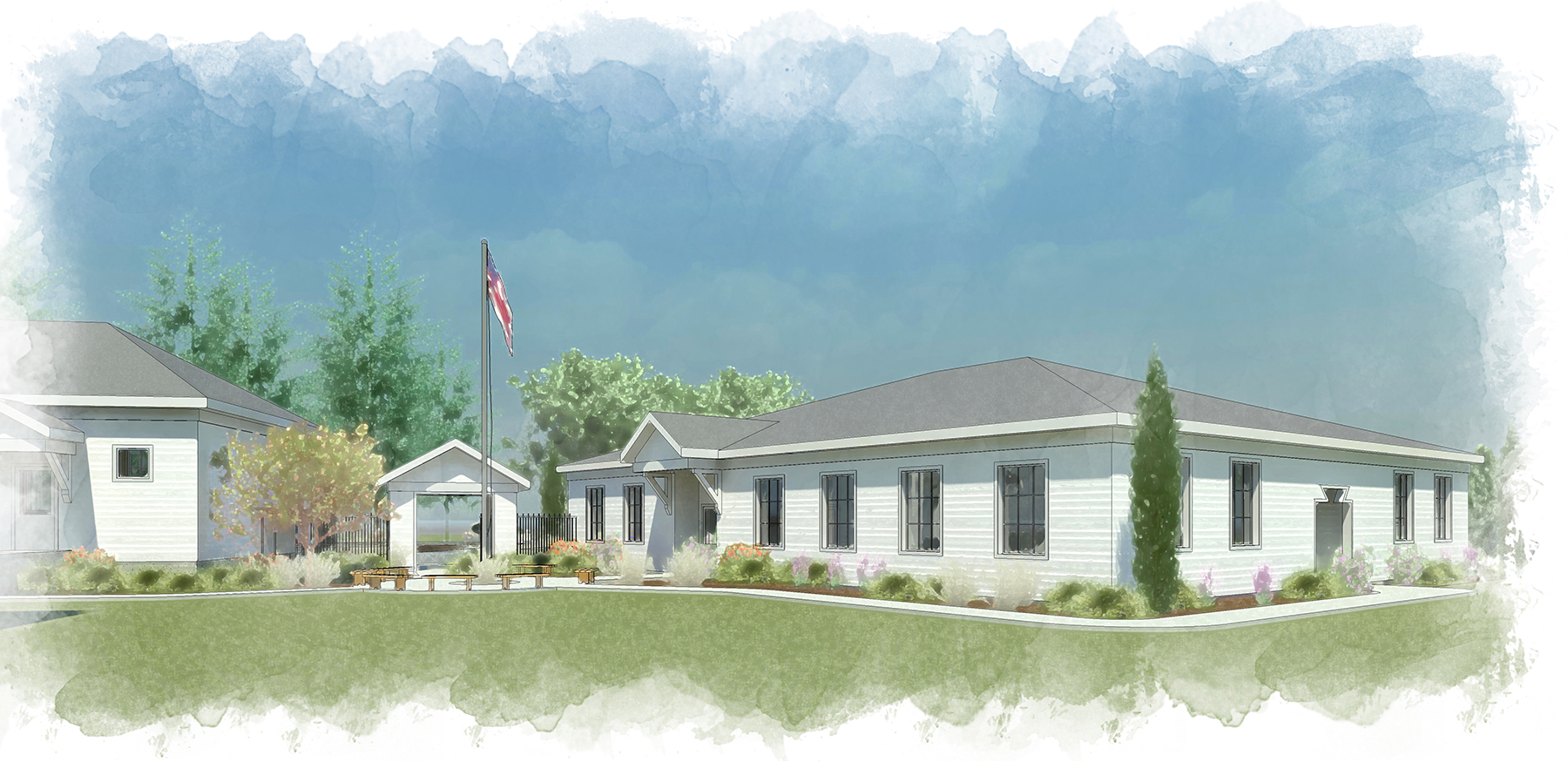 Holy Family Academy rendering