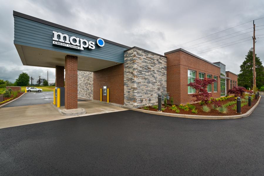 Maps Credit Union Stayton